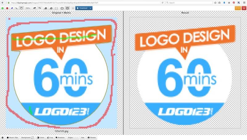 remove logo background
