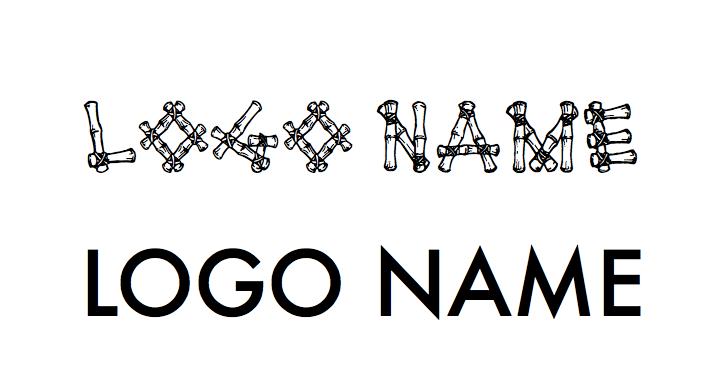 readable logo font